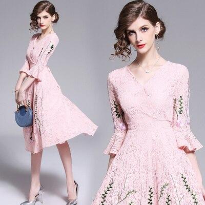 4fc0bd67e6547 Grande Noir Nouveau Sexy Paty Vêtements Femmes 2019 Mode Populaires Beauté  Tendances Printemps Robe D'été ...
