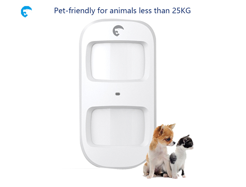 Wireless Pet-Immune Motion Detector ETIGER ES-D2A Pet-friendly Motion Detector