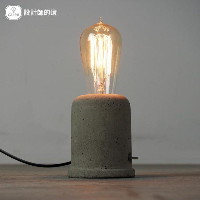 Простой американский чердак старинные промышленного бетононасос настольные светильники эдисон настольная лампа спальня чтение рядом