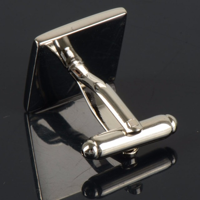Vintage Square Wave Pattern Quality Cufflinks for Men