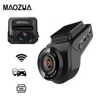 Maozua Car Dash Cam 2160P 4K Ultra HD with 1080P Rear Camera WiFi GPS Logger ADAS Dual Lens Dashcam Car DVR Night Vision