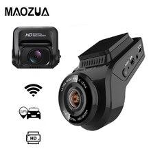 Maozua автомобиля регистраторы 2160 P 4 к Ultra HD с 1080 сзади rкамера WIFI GPS Logger ADAS двойной объектив Dashcam dvr ночное видение