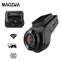 Maozua Car Dash Cam 2160P 4K Ultra HD with 1080P Rear Camera WiFi GPS Logger ADAS Dual Lens Dashcam Car DVR Night Vision