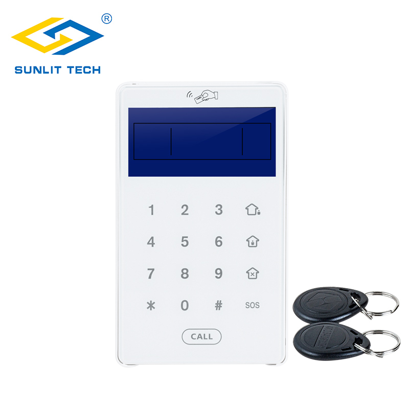 Wireless Two-Way Code Touch Keypad Alarm Sensors For WIFI GSM PSTN Home Intruder Security Alarm  Systems Burglar Access ControlWireless Two-Way Code Touch Keypad Alarm Sensors For WIFI GSM PSTN Home Intruder Security Alarm  Systems Burglar Access Control
