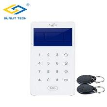 Alarm-Sensors Keypad Wireless Touch for WIFI GSM PSTN Home Intruder Burglar-Access-Control