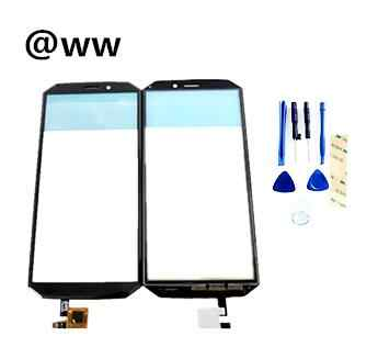 Guophone XP9800 Touch Screen Digitizer Panel Replacement Glass Sensor All new Black Color With Tape