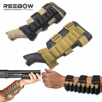 Reebow tactical hunting 8 rounds ammo shotgun shell holder carrier shooting portable forearm mag pouch for.jpg 200x200