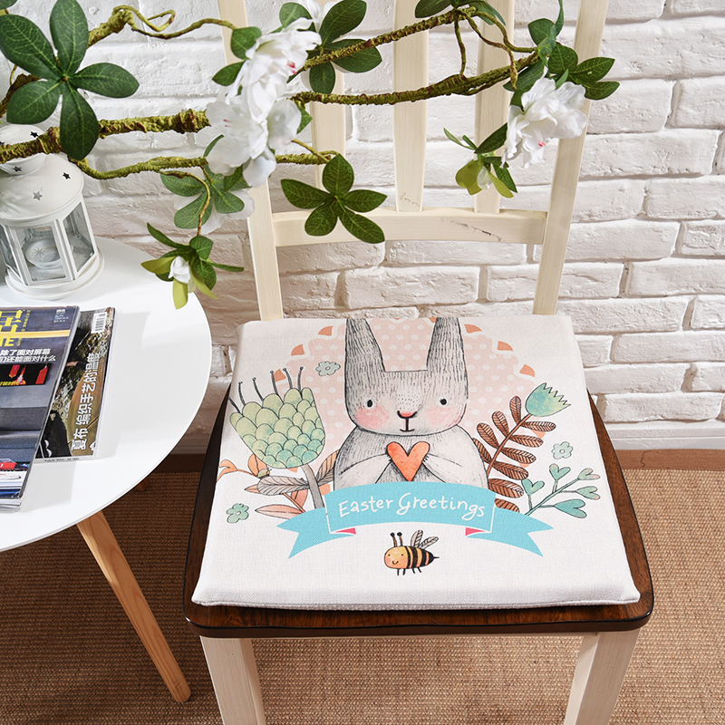 Astonishing New Slow Rebound Memory Latex Cartoon Rabbit Cushions Office Caraccident5 Cool Chair Designs And Ideas Caraccident5Info