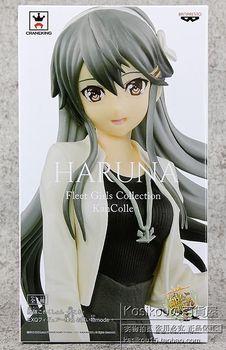 22cm Original Anime Collection PVC Haruna  Model Toy Dolls Gifts