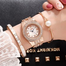 2019 GEDI Fashion Rose Gold Women Watches Top Luxury Brand Ladies Quartz Watch 3 Piece Rhinestone Watch Relogio Feminino Hodinky 2018 new hot gedi fashion ceramic women watches top luxury brand ladies quartz watch 2 pieces watches relogio feminino hodinky