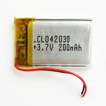 3,7 в 200 мАч 402030 литий-полимерный литий-ионный аккумулятор для Mp3 камеры bluetooth gps psp электронная часть для мобильного телефона