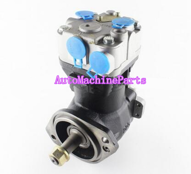 Air Brake Compressor 3969104 3971519 for Engine 6CT ISBEAir Brake Compressor 3969104 3971519 for Engine 6CT ISBE