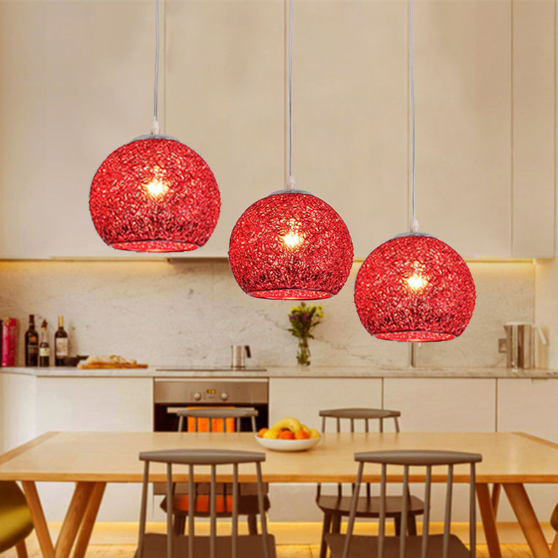 Bedroom Pendant Lights Shop Red Lighting Kitchen Island Modern Ceiling Lamp Bar Aluminum Light Home Indoor Lights Bulb For FreeBedroom Pendant Lights Shop Red Lighting Kitchen Island Modern Ceiling Lamp Bar Aluminum Light Home Indoor Lights Bulb For Free