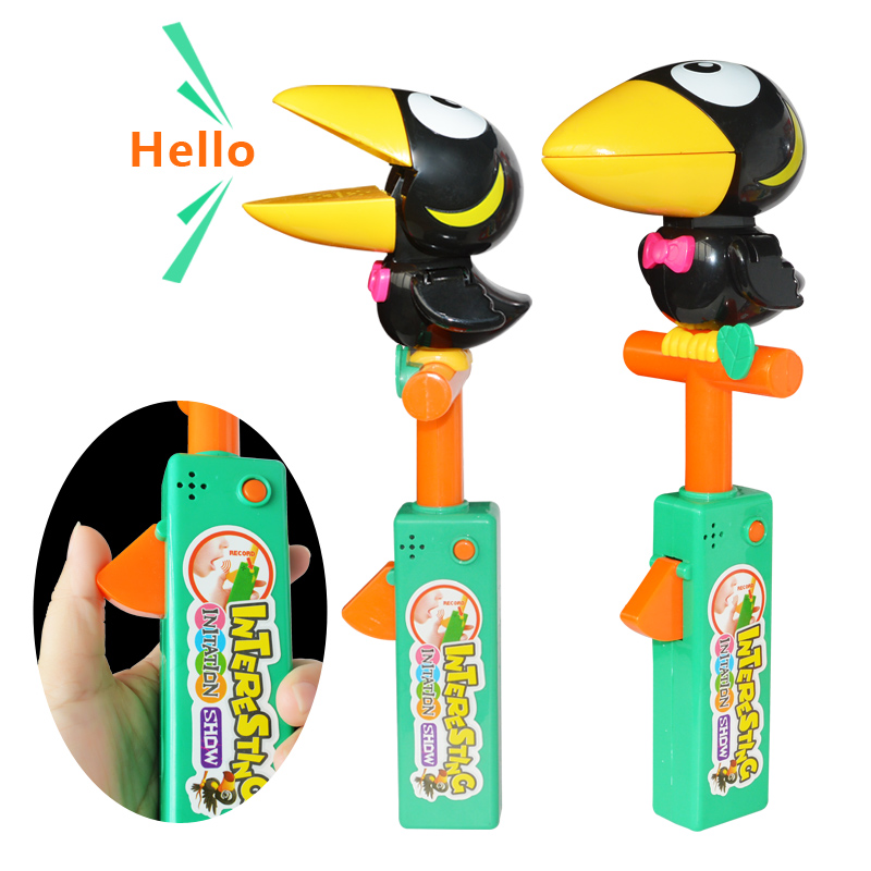 Electronic Interactive Talking Toy Crow Learning Talk ...