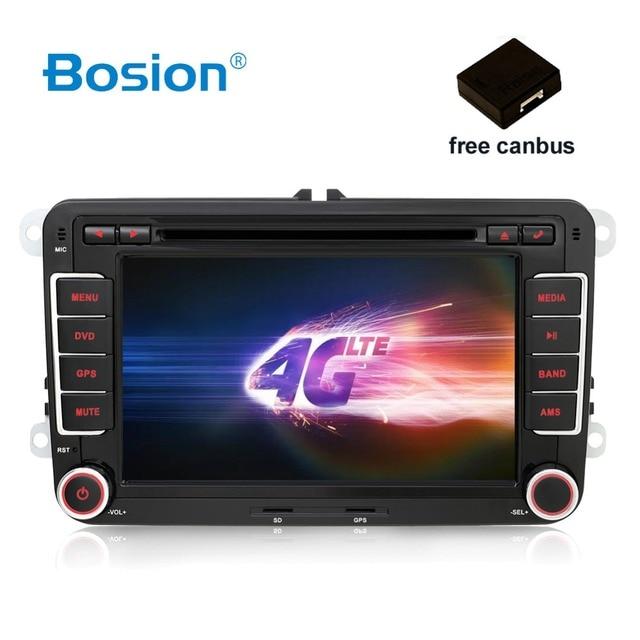 Hd Android 7 1 Car Dvd Vw Gps Navigation Wifi Bluetooth Radio