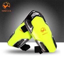 MAICCA professional Soccer Shin Pads Football Leg Protector shin guard player training light Soft Foam Sports match Guards цена