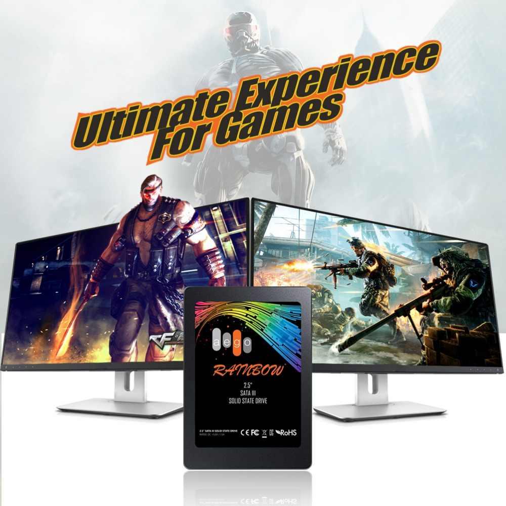 AEGO SATA3 2.5 SSD 120GB 240GB 480GB 2.5 cala SATA III HDD dysk twardy HD SSD Notebook PC 48G wewnętrzny półprzewodnikowy