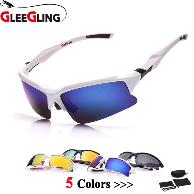 4d1e018a300dcd GLEEGLING Outdoor Zonnebril Clip Polarized Fishing Sunglasses for Runing  Hiking Camping Polarized Brille Sunglasses JH-009