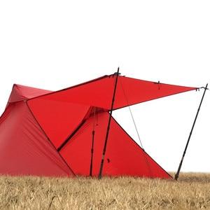 Image 4 - Die Kostenloser Geistern Libra Zelt 20D silnylon 2 Person Oudoor Ultraleicht Camping Zelt 3 Saison Professionelle Kolbenstangenlosen Zelt