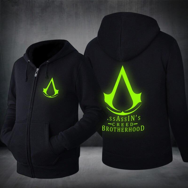 Assassin's Creed Glow in the Dark Hoodies