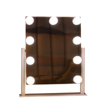 Bestseller Makeup Vanity Mirror Bulbs LED Touchscreen Hollywood Cosmetic Bulb Mirrors with 3 Lights