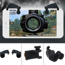 for PUBG Mobile Game Controller Gamepad Trigger Aim Button L1R1 Shooter Joystick For IPhone Android Phone Game Pad Accesorios
