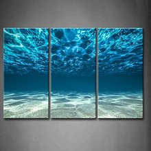3 Pieces Picture Painting Wall Art Room Decor Print Poster beautiful sea Wall Pictures for sitting