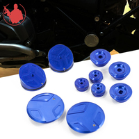 CNC Motorcycle Frame Hole Cover Caps Frame Plug Kit Frame For R1200GS LC Adventure R 1200GS 2014 2018 R1250GS Adv R1250 GS 2019