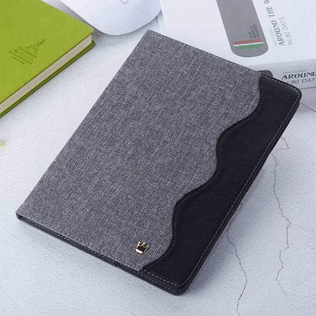 Wave Design Canvas Case for iPad 5