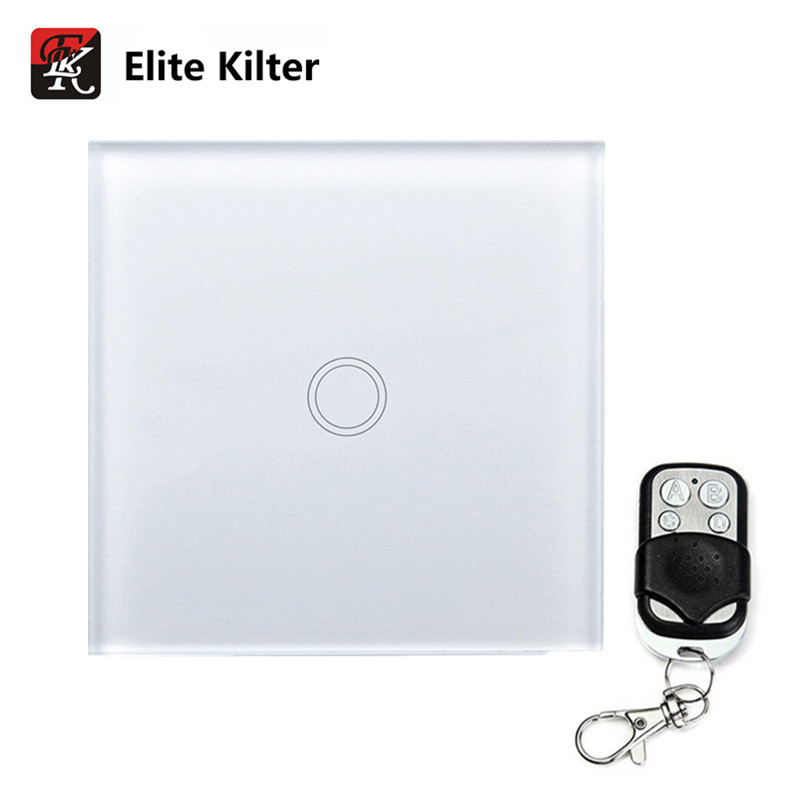 Elite Kilter Remote Control Touch Switch 1 Gang 1 Way Light Wall Touch Switch EU/UK Standard sport elite se 2450