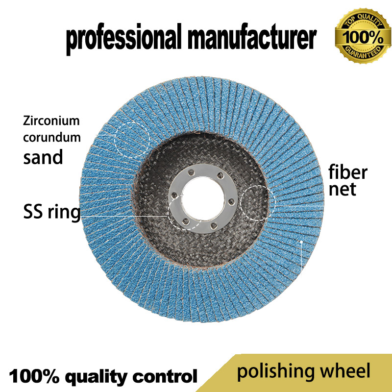Flap Disc For Stainless 80grit Polishing Wheel For Home Use Polishing Steel Pipe For Select And Fast Delivery