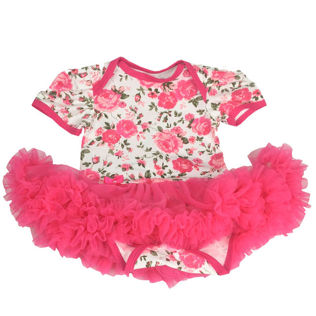 Online Shop New Year Baby Rompers Newborn Baby Girls Clothes