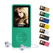"Descarga de música Reproductor de MP3 8 GB Altavoz 1.8 ""HD Pantalla M280 HiFi Sport MP3 Reproductor de Música de Vídeo de Alarma FM Grabador de E-Book ruizu"