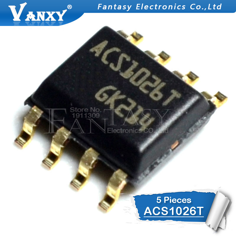 ACS102-6T1  STM   Triac  600V  200mA  5mA  SO8  NEW  #BP 2 pcs