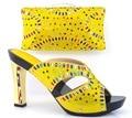 Африканские shoe and bag набор высокой пятки итальянская обувь с соответствующими мешок лучшие продажи дамы соответствующий обувь и сумки италия обуви и мешок