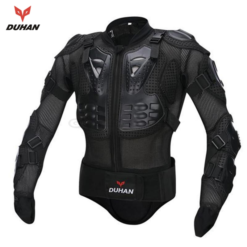 DUHAN New Brand Motorcycle Racing Armor Protector Motocross Off-Road Body Protection Jacket Clothing Protective Gear brand new motorcycle armor protector motocross off road chest body armour protection jacket vest clothing protective gear p14