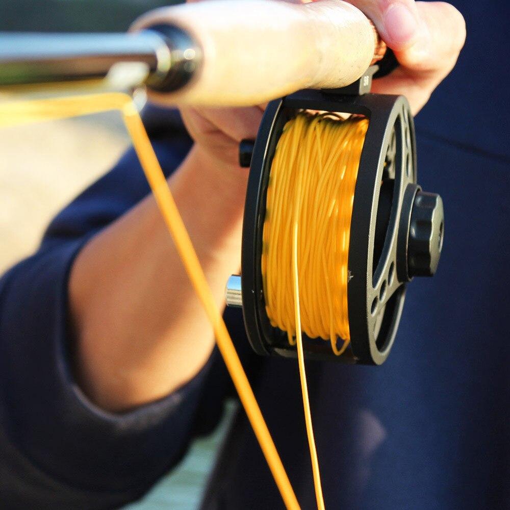 FL. оранжевый форели лосося WF-5F 100 футов нахлыст линий для нахлыстом