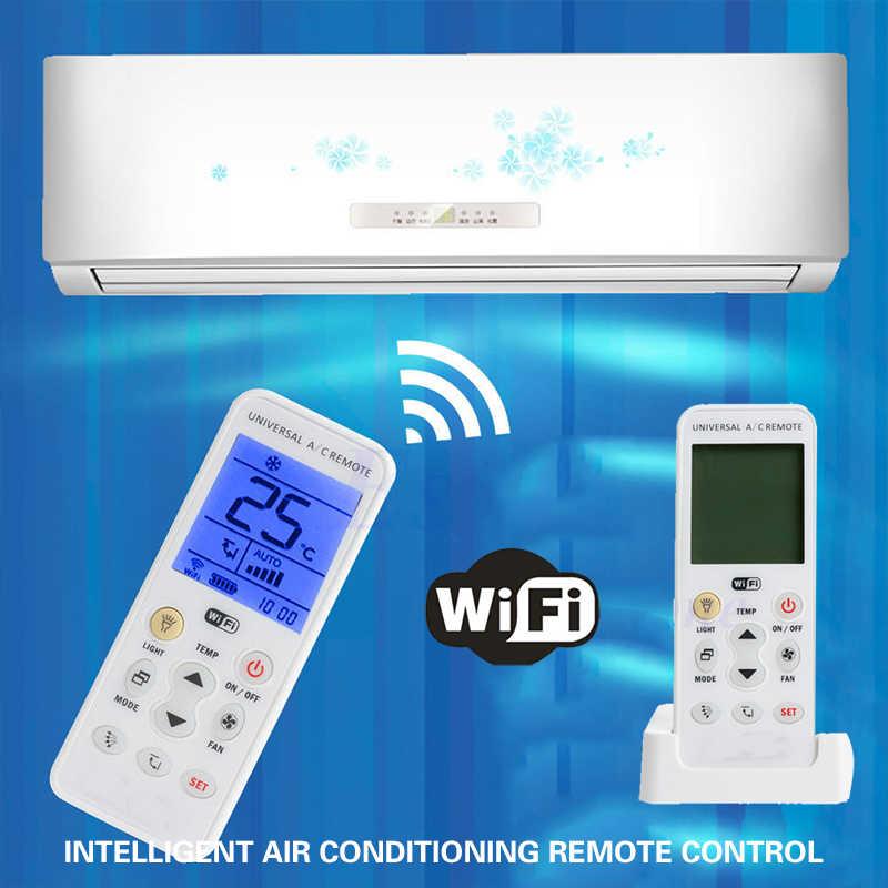 2019 Drop Доставка WI-FI кондиционер пульт дистанционного дистанционный контроллер для умного дома универсальный ЖК-дисплей контроллер кондиционера воздуха