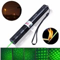 2000M Green Laser Pointer Pen Continuous Line Light Powerful Visible Lazer Pen Adjustable Focusing Beam 532nm 5mw For Teaching