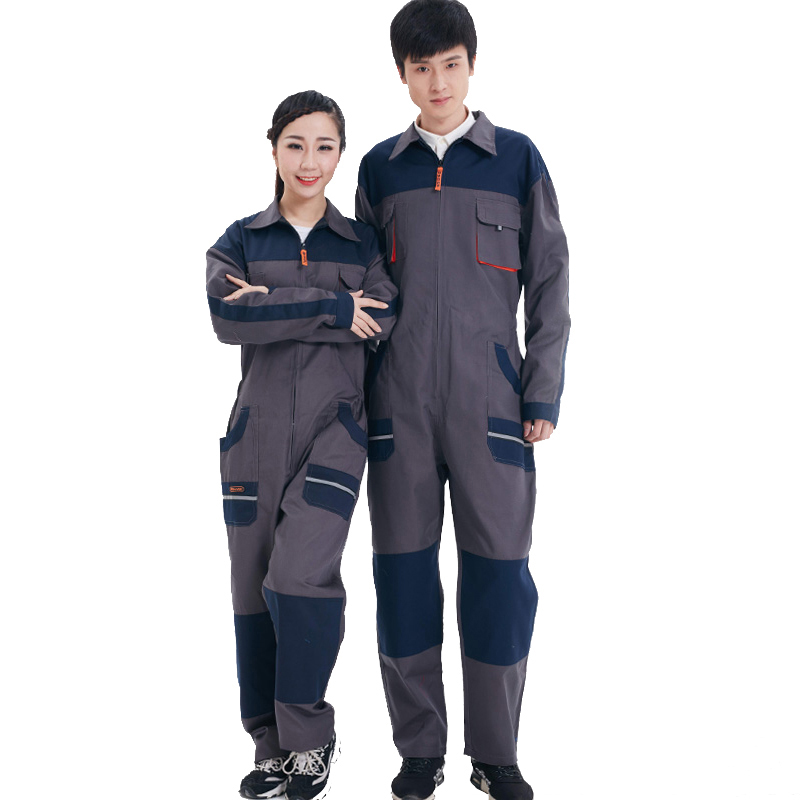 Men Women Overalls Labor protective Work clothing Dust-proof Comfortable Breathable Machine Auto repair Long-sleeve Coveralls new men overalls denim work clothing long sleeve hooded coveralls labor overalls for machine welding auto repair painting m 4xl