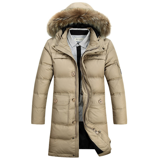 Aliexpress.com : Buy Winter Men's Long Design Down Jackets Coats ...