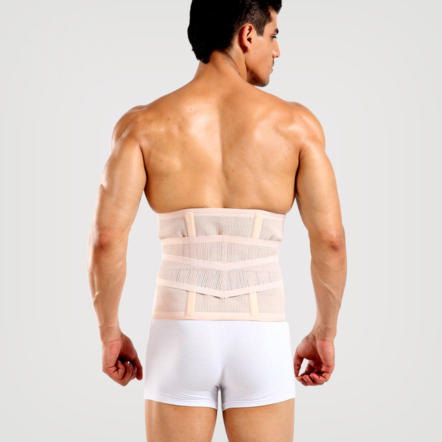 Waist Support Waist Protection Thin Breathable Mesh Lumbar Support Protection Sports Safety Waist Cincher Belt Posture Corrector
