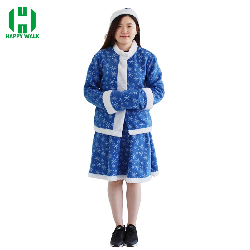 Santa Claus Costume for Women Christmas Snegurochka Costume Snow Maiden Xmas Cosplay Costume Sexy Female Christmas Dress
