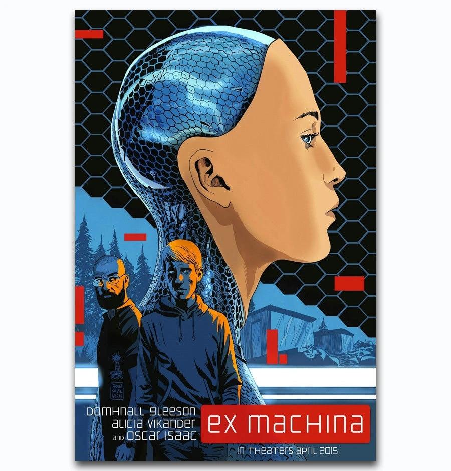 "Alicia Vikander Robot AI 2015 USA Movie 24/""x32/"" Poster 017 EX MACHINA"