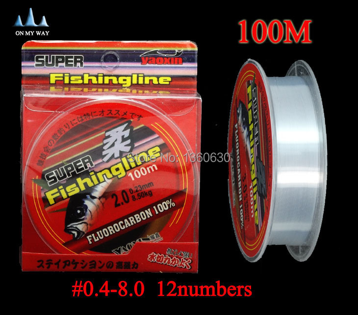 High quality fishing line brand super strong 100m for Fishing line brands