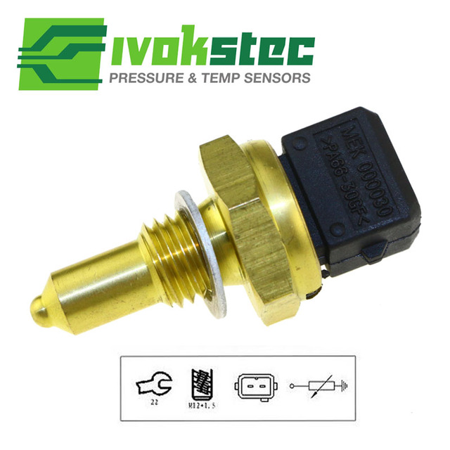 Soğutma suyu sıcaklık göstergesi için sensör: yer, kontrol, değiştirme