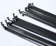 Jauge à rayons à lame noire PSR Aero 1423, type J, coude en J, filetage 14 2.0mm, 9mm, largeur 2.3mm