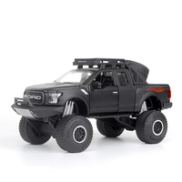 EFHH 1 32 Simulation F150 Alloy Car Model Vehicle Diecast Toy Car With Musical And Flashing