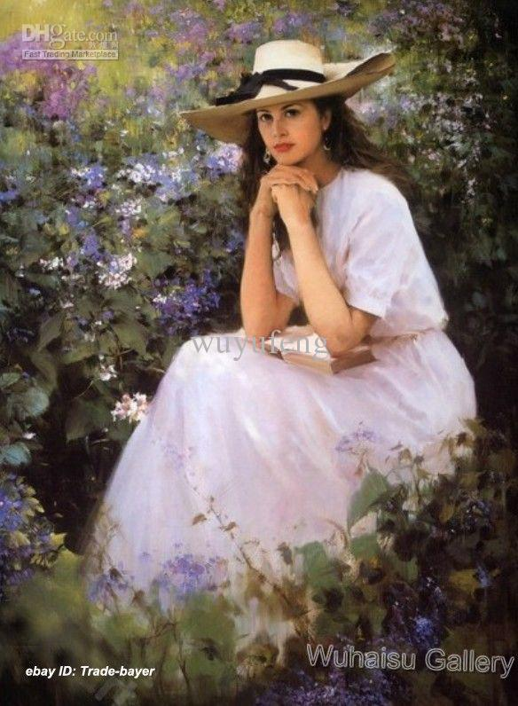Ideal answer beautiful woman oil painting consider, that