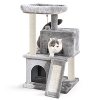 Cat's Tree Furniture Protector Pets Scratcher Scratching Fun Post Toy Activity Centre Indoor Home Furniture Pet House